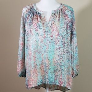 Cynthia Rowley popover high low top tunic.